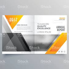 Cover Page For Annual Report Template by Business Cover Page Template Layout Brochure Design With Abstrac