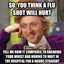 Flu Shot Meme - the best collection of flu shot memes doctors immediate care inc