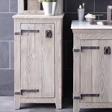 White Freestanding Bathroom Furniture Free Standing Bathroom Cabinet Visionexchange Co