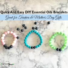 bracelet diy easy images Quick and easy diy essential oils bracelets unprocessed jess png