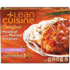 are lean cuisines healthy meatloaf with mashed potatoes lean cuisine