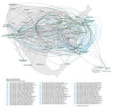 Alaska Air Route Map by Frontier Route Map My Blog