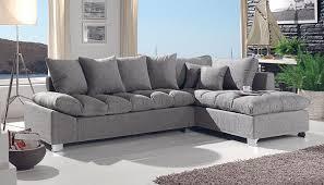 coussin pour canapé d angle canap gris en tissu canap duangle convertible et rversible en