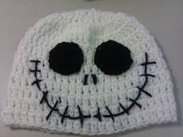 Halloween Jack Skeleton by Crochet Halloween Jack Skellington Hat Youtube