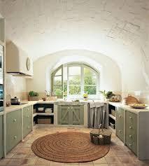 cuisine bois peint idée relooking cuisine cuisine blanche et bois fenêtre à carreau