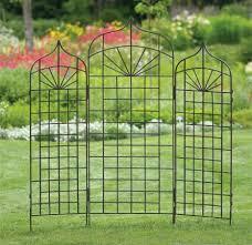 simple design metal garden trellis build a cheap metal garden