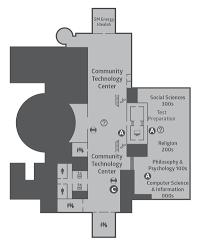 call center floor plan central library maps and call number guide denver public library
