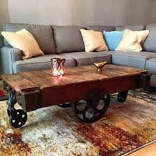 railroad cart coffee table lineberry railroad cart ta bay salvage