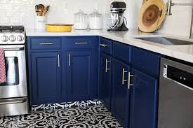 images of blue and white kitchen cabinets our navy blue and white kitchen remodel no 2 pencil