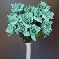 velvet bloom roses turquoise 168 pk efavormart