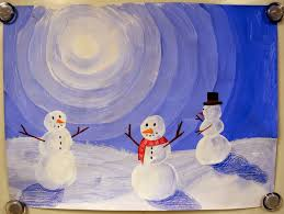 3rd 4th 5th 6th winter value snowmen tints elementary