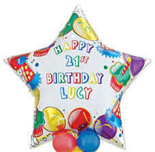 personalised birthday balloons happy birthday personalised sittingbourne balloons