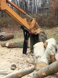 mechanical mini excavator thumb attachment backhoe thumb
