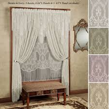 Antique French Lace Curtains by Queens Lace Window Treatment