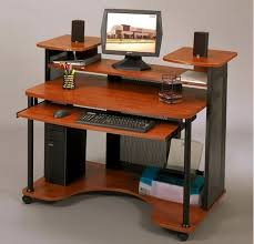 Wood Computer Desk Advantages Of Computer Desk On Wheels U2013 Furniture Depot