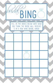 Baby Shower Printable Bingo Bridal Bingo Template Lisamaurodesign