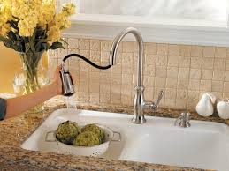 Price Pfister Kitchen Faucet by Pfister F5297tms Hanover 1 Handle Pull Down Kitchen Faucet With