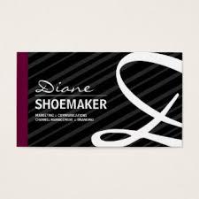 Monogram Business Cards Shoemaker Business Cards U0026 Templates Zazzle