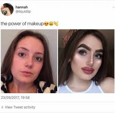 Make Up Meme - the power of makeup funny memes daily lol pics