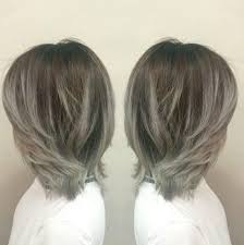 silver brown hair the 25 best brown hair silver ombre ideas on pinterest silver