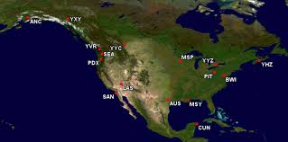 Turkish Airlines Route Map by Condor Partnership U003d Lufthansa Miles On Alaska Live And Let U0027s Fly