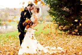fall wedding the benefits of a fall wedding mywedstyle