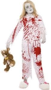 zombie pyjama party costume fancy dress halloween kids