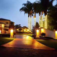 Fairy Lights In Trees commercial quality fairy lights glow worm lighting brisbane