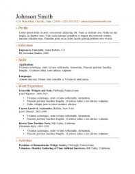 Microsoft Online Resume Templates by Resume Examples 10 Great Pictures And Images Good Perfect Awesome