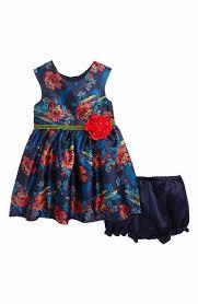baby dresses ruffle silk velour nordstrom