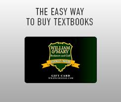 college of william and mary official bookstore textbooks