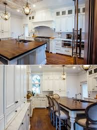 images of white glazed kitchen cabinets white glazed kitchen with walnut countertop