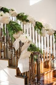 Stairs Decorations by Drape On The Stairs Is Beautiful Could Swag It Or Wrap Around