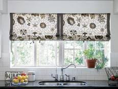 kitchen window treatments ideas pictures modern kitchen window treatments hgtv pictures ideas hgtv