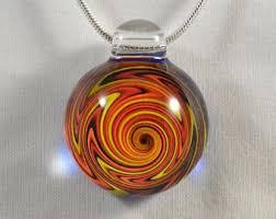 necklace pendants etsy images Trippy glass pendant etsy jpg