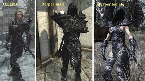 Skyrim Light Armor Mods Skyrim Gear 4 Heavy Armor