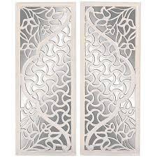 fashionable design ideas white wood wall decor fresh decoration