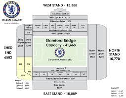 seating plan tickets u0026 membership official site chelsea