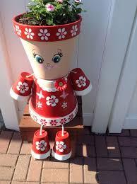 Decorating Clay Pots Kids Best 25 Clay Pot People Ideas On Pinterest Flower Pot People