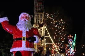 theme park open featuring christmas festival of lights u0026 santa vip