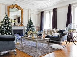 wsh loves the idea of two trees flanking the fireplace via my