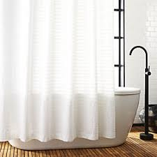 Shower Curtains by Unique Modern Shower Curtains Cb2