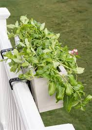 deck railing planter box buildsomething com