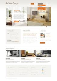 Interior Design Websites Home by Interior Design Psd Template 38126