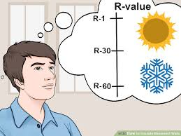Insulation R Value For Basement Walls by 3 Ways To Insulate Basement Walls Wikihow