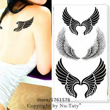 compare prices on angel wings for tattoos online shopping buy low