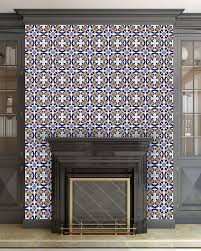 Tiled Fireplace Wall by Fireplace Tiles The Tile Home Guide
