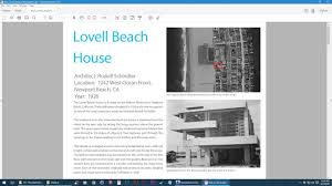 Lovell Beach House Revit Drawing Floors Walls U0026 Roofs Lovell Beach House Youtube