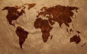 Simple World Map by World Map Wallpaper Qygjxz