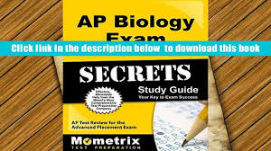 download ap biology exam secrets study guide ap test review for